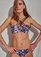 Morhipo Beach Bant Detaylı Bikini Takımı Siyah